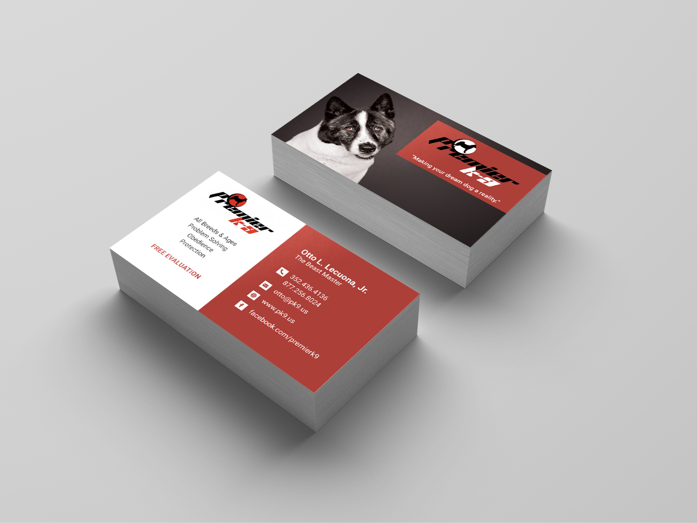 Dog Training Business Card | Lisa Gerren